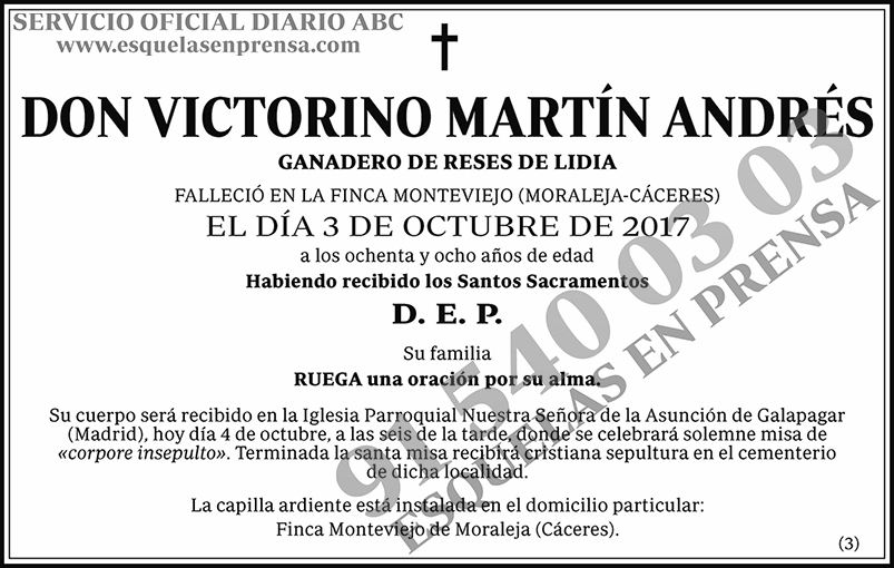 Victorino Martín Andrés